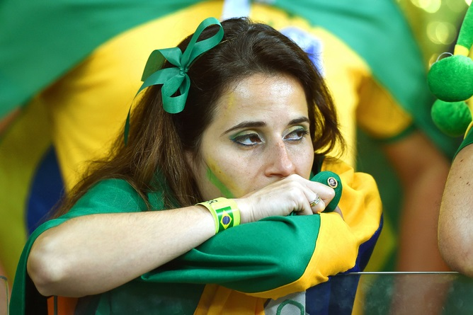 The enduring image of Brazil's World Cup? Marcus Brandt/EPA